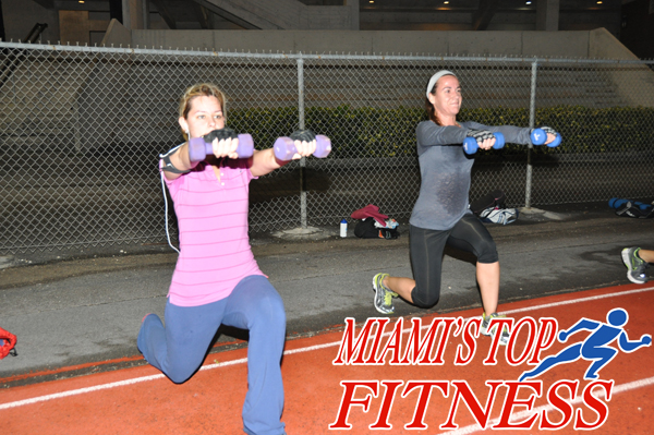 Lunges exercise Miami Fitness